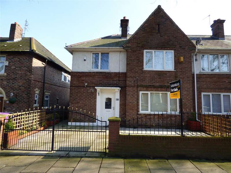 3 Bedrooms End Of Terrace House for sale in Lisburn Lane, Liverpool, Merseyside, L13