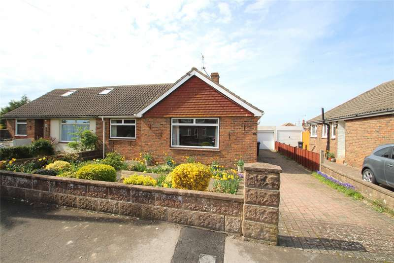 3 Bedrooms Semi Detached Bungalow for sale in Osborne Close, Sompting, West Sussex, BN15