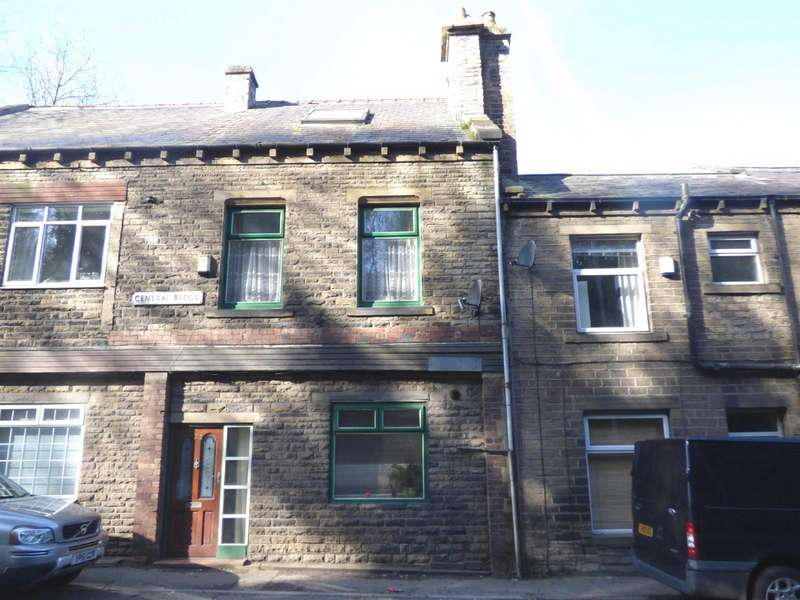 4 Bedrooms Terraced House for sale in Central Buildings, Burnley Road, Luddendenfoot, Halifax, HX2