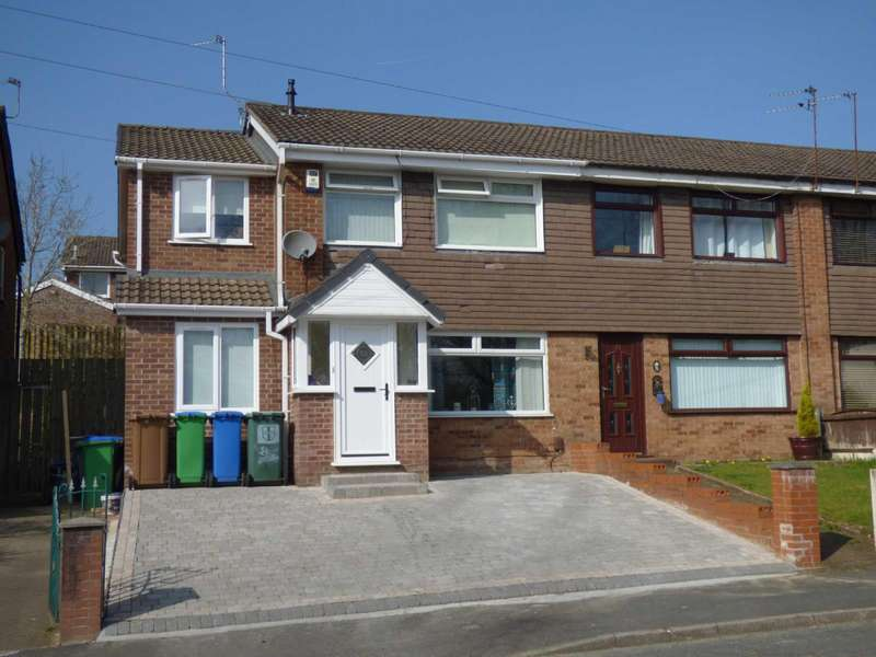 4 Bedrooms Semi Detached House for sale in Glenwood Drive, Middleton, Manchester, M24