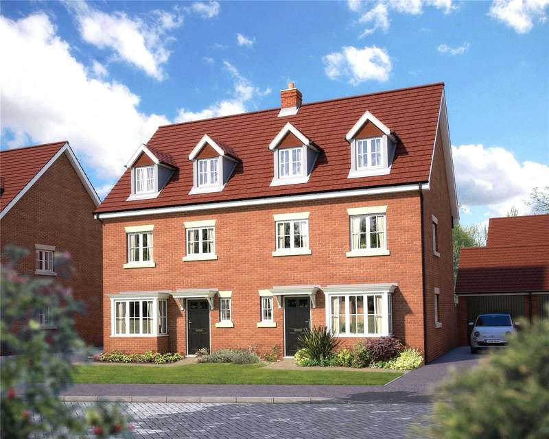 4 Bedrooms Semi Detached House for sale in Saxons Plain, Fulbeck Avenue, Worthing, BN13