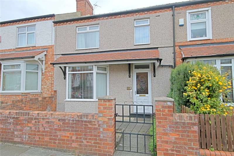 3 Bedrooms Terraced House for sale in Cedar Road, Darlington, County Durham, DL3