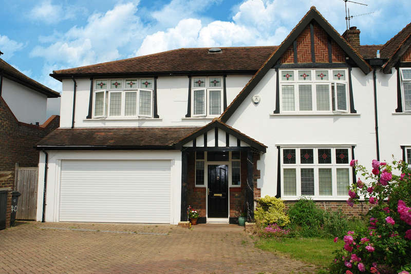 5 Bedrooms Semi Detached House for sale in The Ridings, Berrylands, Surbiton