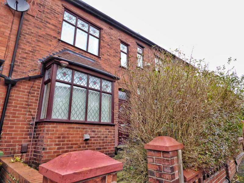 2 Bedrooms Terraced House for sale in Wellington Road, Coppice, Oldham, OL8