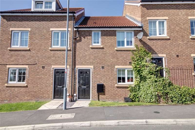 3 Bedrooms Terraced House for sale in Church Square, Brandon, Durham, DH7