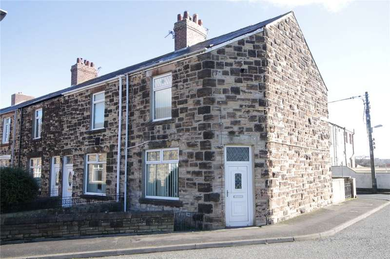 2 Bedrooms End Of Terrace House for sale in Henley Gardens, Consett, County Durham, DH8
