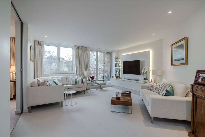 3 Bedrooms Flat for sale in Boleyn Lodge, 2 Marryat Road, Wimbledon Village, London, SW19