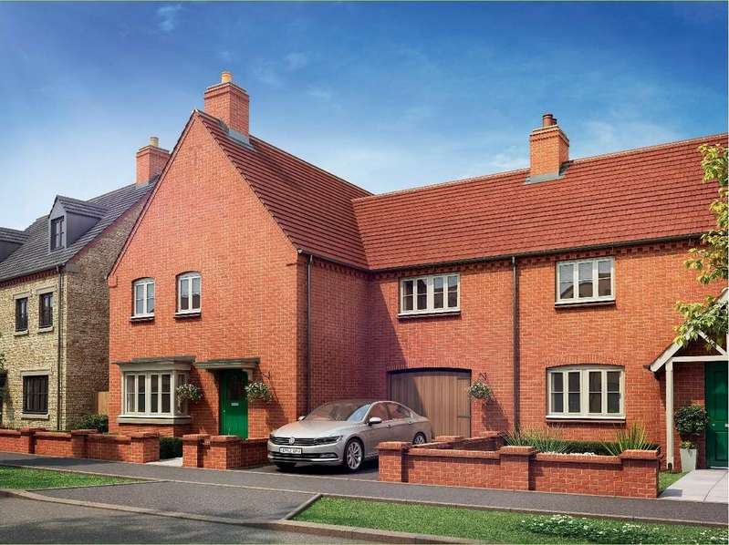4 Bedrooms Link Detached House for sale in Halse Road, Brackley