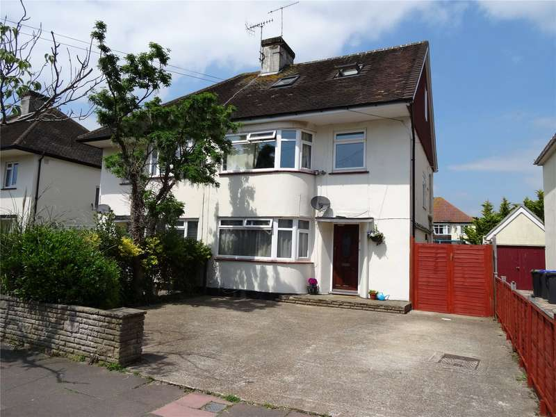 5 Bedrooms Semi Detached House for sale in Ardsheal Close, Broadwater, Worthing, BN14
