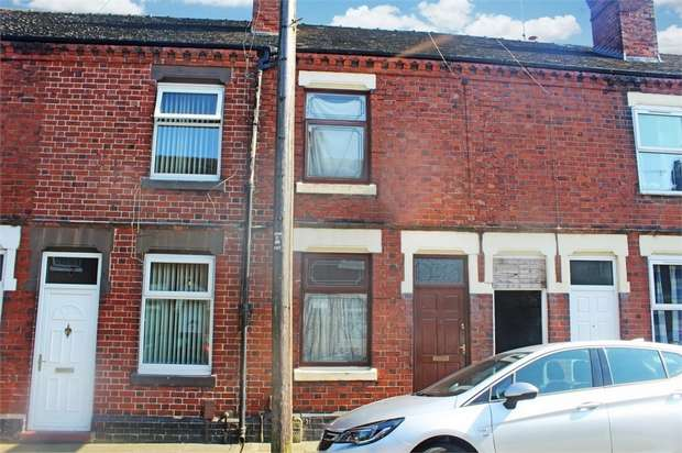 3 Bedrooms Terraced House for sale in Hines Street, Stoke-on-Trent, Staffordshire