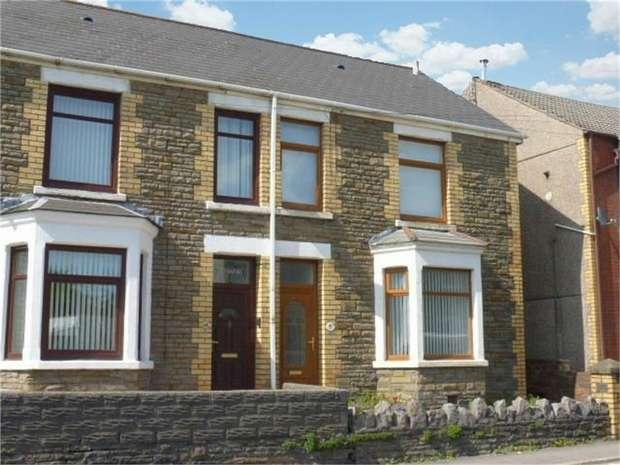 3 Bedrooms Semi Detached House for sale in Ffald Road, Pyle, Bridgend, Mid Glamorgan
