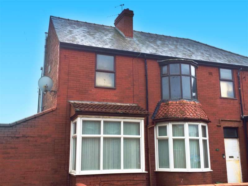 1 Bedroom Ground Flat for sale in Silverwood Avenue, South Shore, Blackpool, FY4 3BW