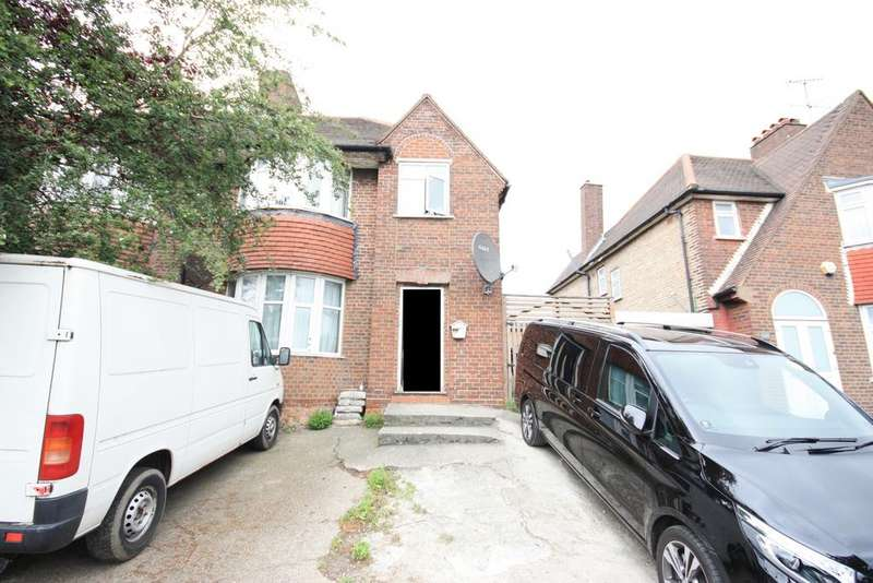 3 Bedrooms Semi Detached House for sale in Western Avenue, East Acton, London W3
