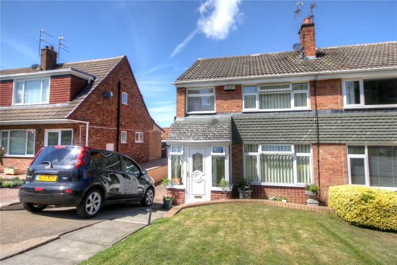 3 Bedrooms Semi Detached House for sale in Alnwick Close, Bishop Auckland, County Durham, DL14