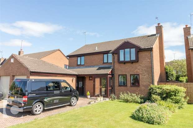 4 Bedrooms Detached House for sale in Moorings Close, Parkgate, Neston, Cheshire