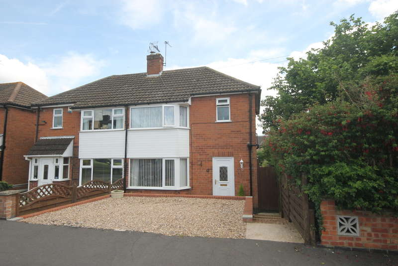 2 Bedrooms Semi Detached House for sale in Sandringham Avenue, Earl Shilton