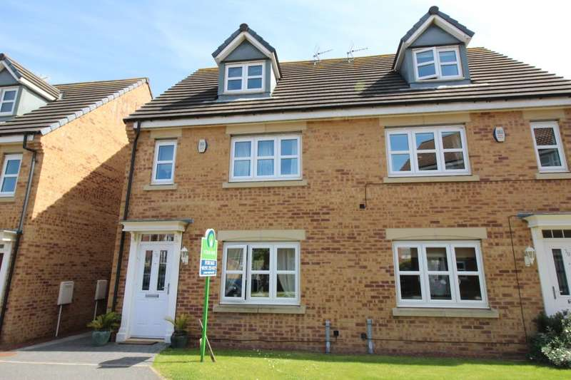 4 Bedrooms Semi Detached House for sale in Dukesfield, Shiremoor, Newcastle Upon Tyne, NE27