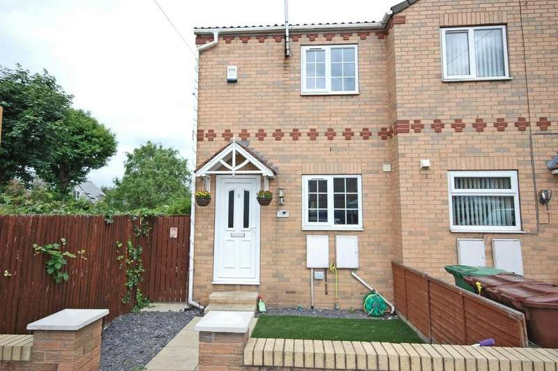 2 Bedrooms Semi Detached House for sale in Tennants Court, Cow Lane, Knottingley