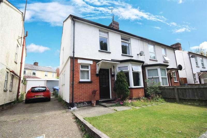3 Bedrooms Semi Detached House for sale in Nacton Road, Ipswich