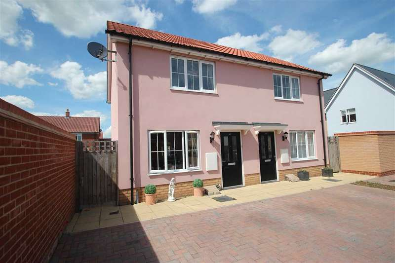 2 Bedrooms Semi Detached House for sale in Cross Road, Clacton-On-Sea