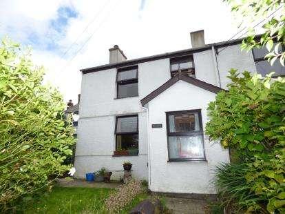 2 Bedrooms End Of Terrace House for sale in Tanrallt Terrace, Llanllyfni, Caernarfon, Gwynedd, LL54
