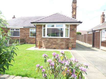 2 Bedrooms Bungalow for sale in Woodview Crescent, Widnes, Cheshire, WA8