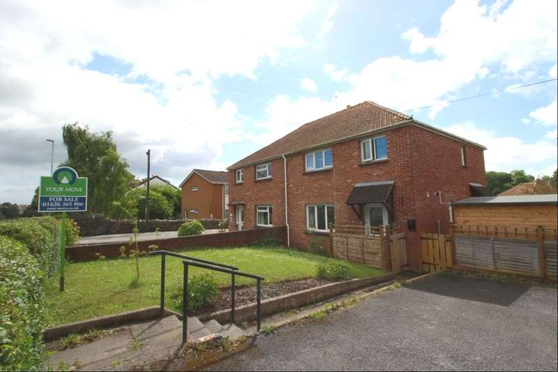 3 Bedrooms Semi Detached House for sale in Ashburton Road, Newton Abbot, TQ12
