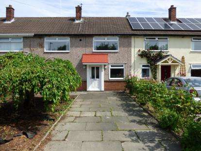 3 Bedrooms Terraced House for sale in Charnock Road, Culcheth, Warrington, Cheshire