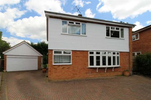 4 Bedrooms Detached House for sale in Mayford, Woking, Surrey