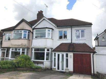 4 Bedrooms Semi Detached House for sale in Weymoor Road, Birmingham, West Midlands