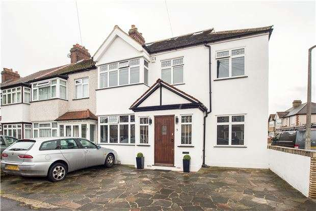 5 Bedrooms End Of Terrace House for sale in Buxton Crescent, SUTTON, Surrey, SM3 9TR