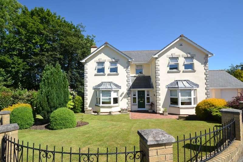 4 Bedrooms Detached House for sale in 3 Tyddyn Gwaun, Laleston, Bridgend, Bridgend County Borough, CF32 0LN.