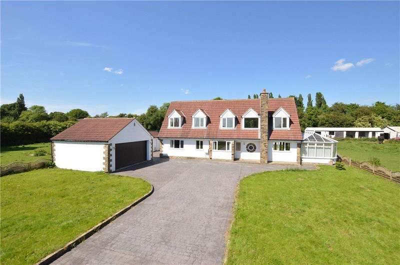 4 Bedrooms Detached House for sale in Barrowby Lane, Garforth, Leeds, West Yorkshire