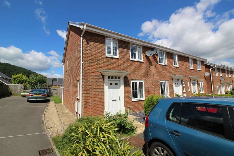 3 Bedrooms End Of Terrace House for sale in Thomas Hill Close, Llanfoist, Abergavenny, NP7