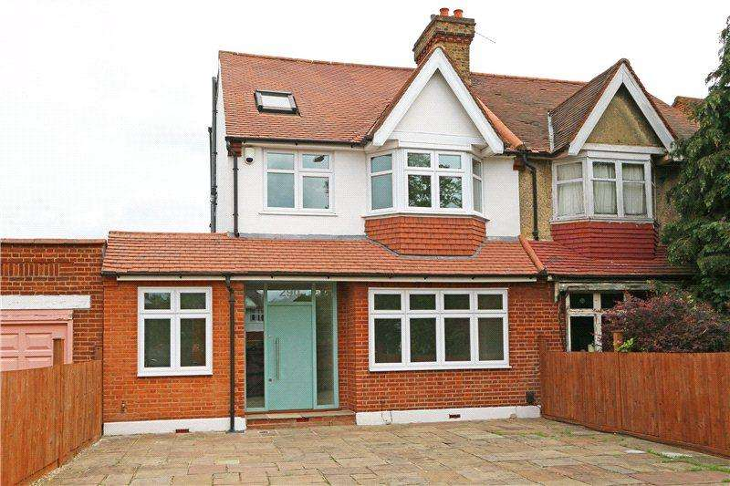 4 Bedrooms Semi Detached House for sale in Coombe Lane, West Wimbledon, London, SW20