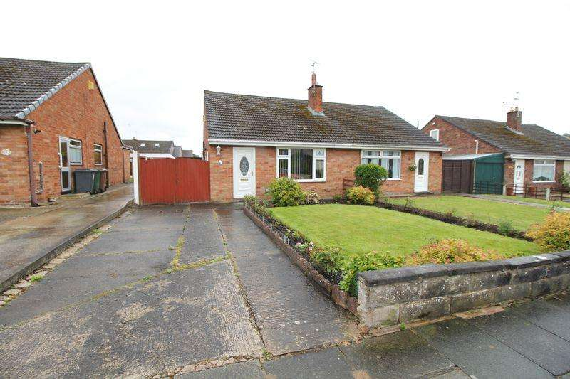 2 Bedrooms Semi Detached Bungalow for sale in Sunningdale Drive, Bromborough