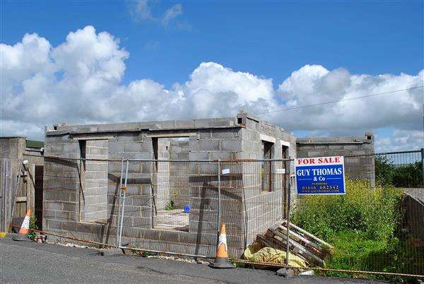 Land Commercial for sale in Incomplete Bungalow, Picton Place, Pembroke Dock