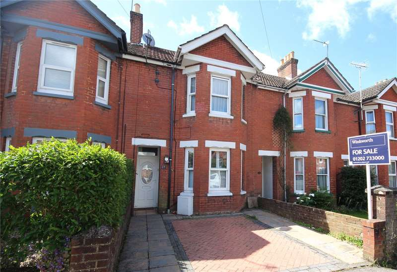 3 Bedrooms Terraced House for sale in Courthill Road, Lower Parkstone, Poole, BH14