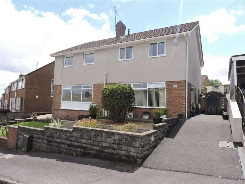 3 Bedrooms Property for sale in Cwmgelli Close, Treboeth