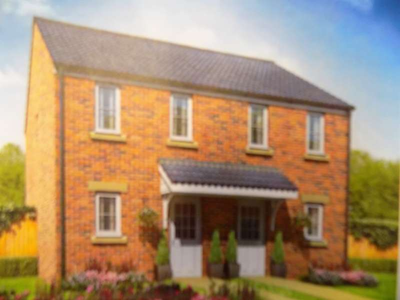 2 Bedrooms Semi Detached House for sale in Plot 100 Emily Fields, Birchgrove, Swansea. SA7