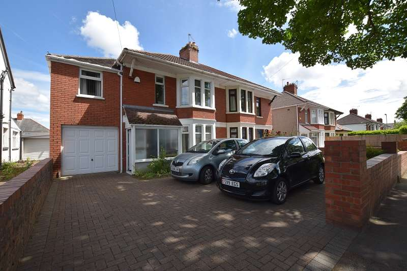 5 Bedrooms Semi Detached House for sale in Pantbach Road, Rhiwbina, Cardiff. CF14 1UF
