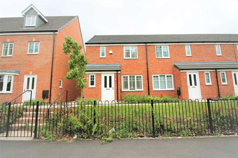 3 Bedrooms Semi Detached House for sale in Padley Mews, Warrington