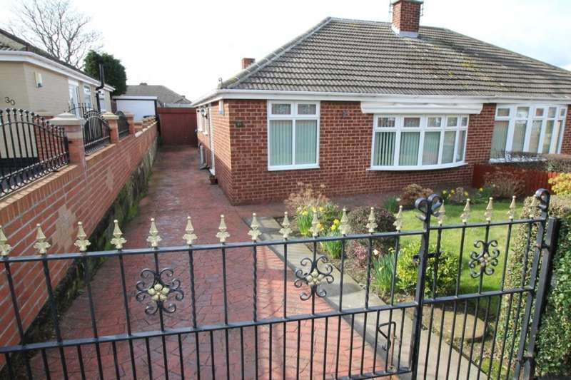 2 Bedrooms Semi Detached Bungalow for sale in Durham Road, Middlesbrough, TS6