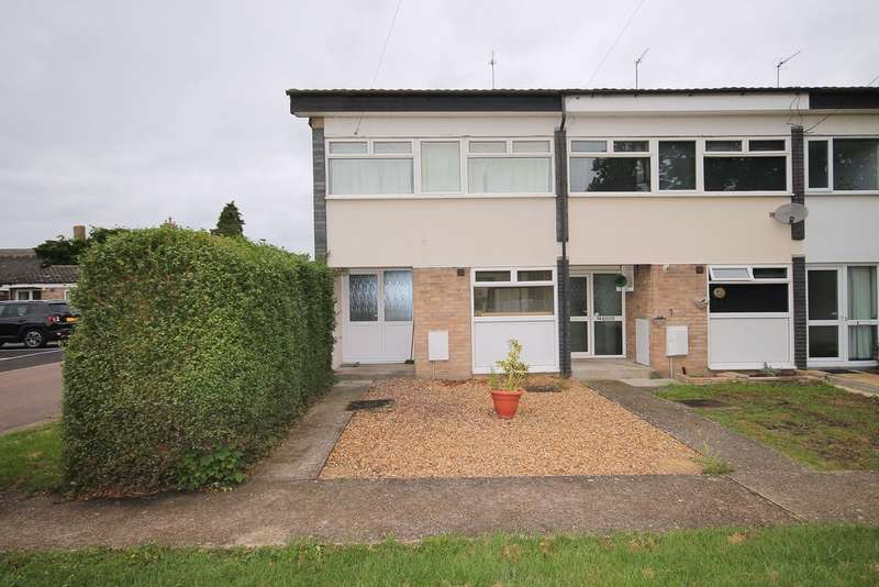 3 Bedrooms End Of Terrace House for sale in Addingtons Road, Great Barford, MK44
