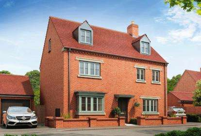 5 Bedrooms Detached House for sale in The Brackens, Radstone Fields, Halse Road, Brackley