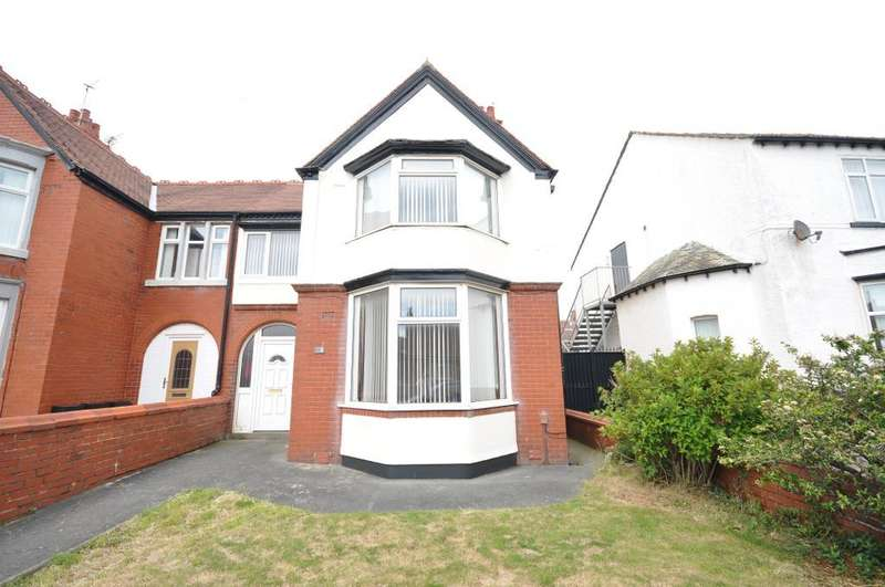 4 Bedrooms Semi Detached House for sale in Boscombe Road, South Shore, Blackpool, Lancashire, FY4 1LW