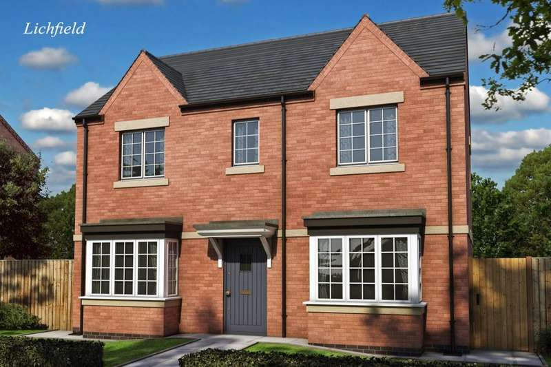 3 Bedrooms Semi Detached House for sale in Heritage Park, Tutbury, Burton-On-Trent, DE13