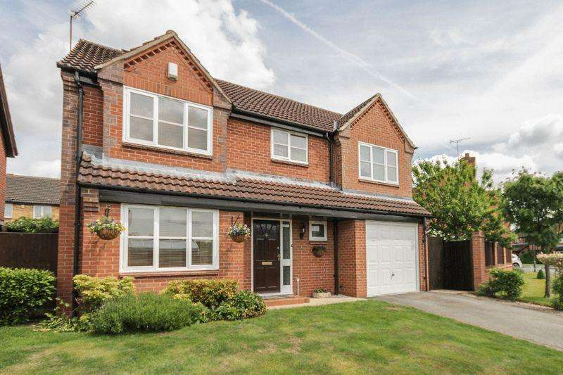 4 Bedrooms Detached House for sale in OTTERBURN DRIVE, ALLESTREE
