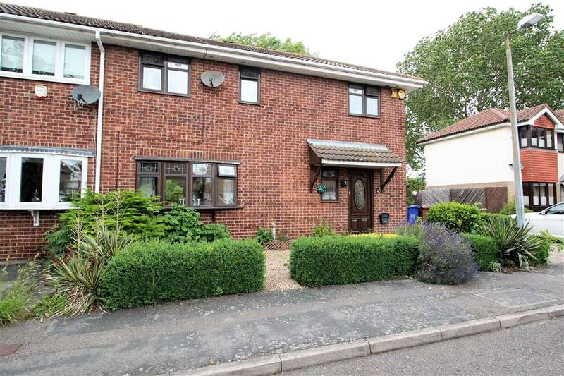 3 Bedrooms Semi Detached House for sale in Coltsfoot Court, Grays