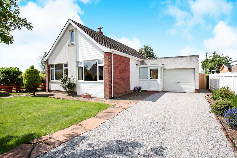 2 Bedrooms Detached Bungalow for sale in Greenlea Crescent, Dumfries, DG1